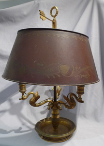 French antique Bulotte lamp.
