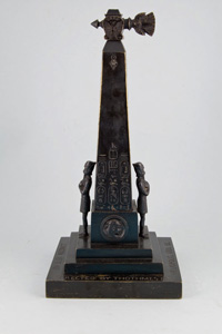 Grand Tour Cleopatra's Needle mains gas cigar lighter.