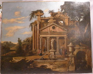 Antique Italian Clasical painting Late 17th or early 18th century