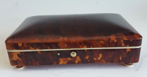 Antique Tortoiseshell and ivory Box
