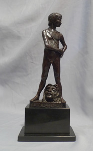 Bronze by Enzo Plazotta titled
