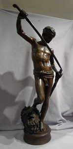 Antique bronze of