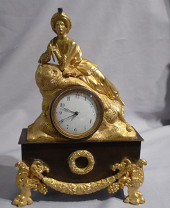 Antique Greek Revolution or Hellenistic clock of Marmaluke.