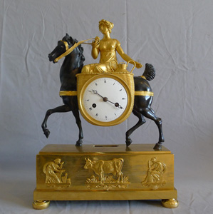 Antique French Empire clock of