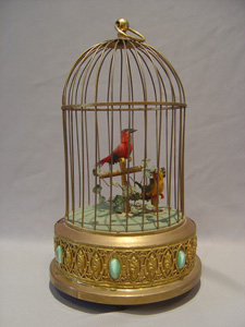 German double singing bird cage.
